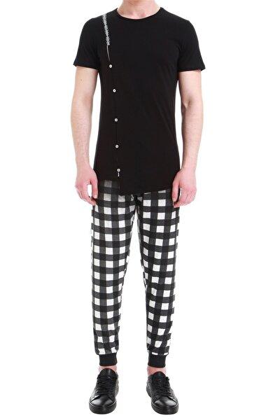 Atp 06 Slim Fit Siyah Spor Pantolon