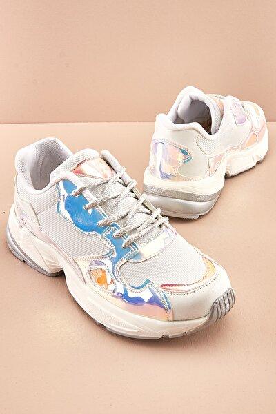 Beyaz Kadın Sneaker K06136260