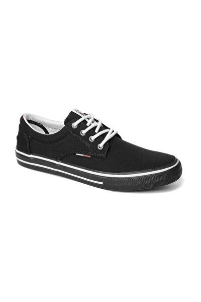 Erkek Siyah Sneaker Tommy Jeans Textıle Sneaker EM0EM00001