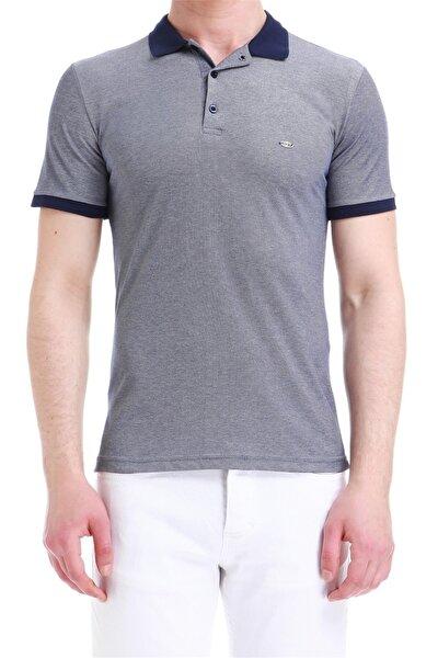 Ts 728 Slim Fit Lacivert Spor T-shirt