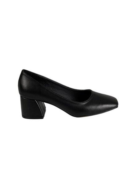 1.kalite Suni Deri Tpk Yük.5cm Bayan Gova Ayakkabı