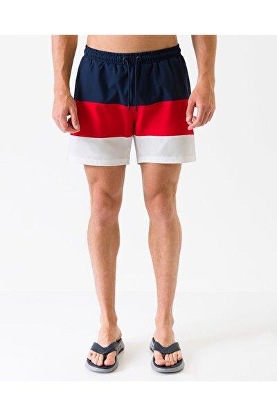 Swimwear M Colorblock Swimshort Erkek Kırmızı Deniz Şortu S201170-600