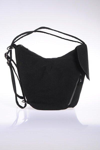 Luxury Sg-monkey Siyah Kadın Sırt Çantası