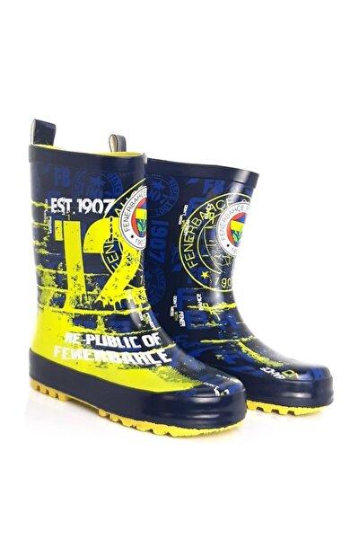 Unisex Çocuk Lacivert Fenerbahçe 58707fb Yağmur Çizmesi Bot