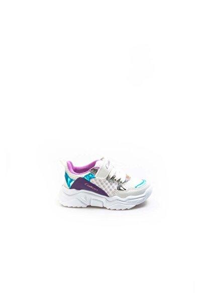 Beyaz Turkuaz Lila Bebek Sneaker Ayakkabı 868ba051c