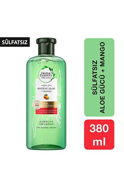 Sülfatsız Renk Koruma Ve Nem Aloe + Mango Şampuan 380 ml