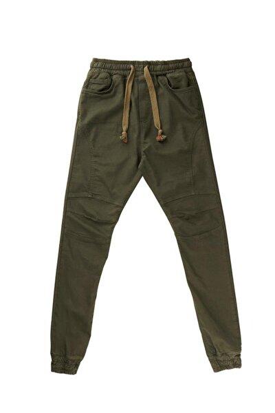 Erkek Yeşil Dakota Stretch Casual Pantolon (19.01.16.004-c09)