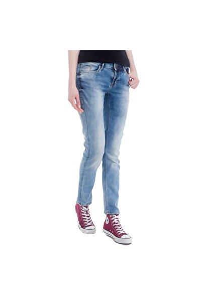 Jasmin Slim Kadın Jean Pantolon Mavi
