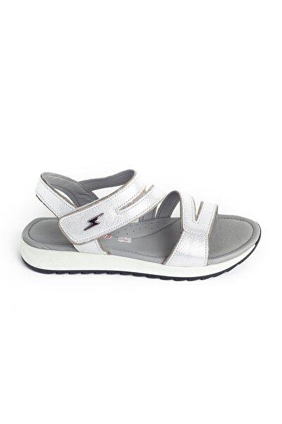 Kız Çocuk Beyaz Deri Ortopedik Ayakkabı