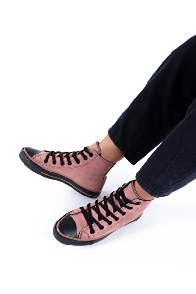 Unisex Süet Uzun Spor Ayakkabı