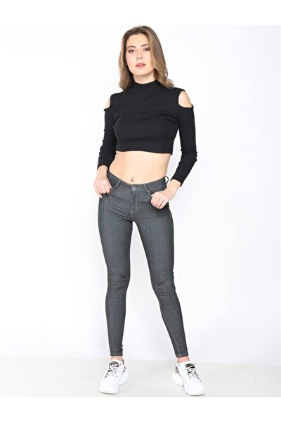 Kadın Yüksek Bel Pantolon Mındy 9005-60 60