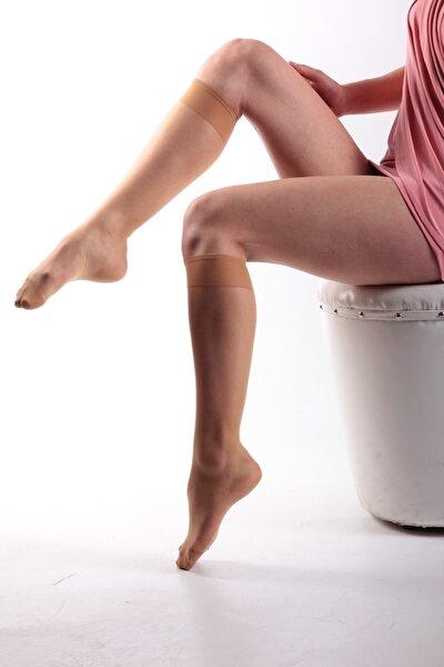 Parlak Fit(15d) Ince Dizaltı Çorap-ten 57-(12 Çift)