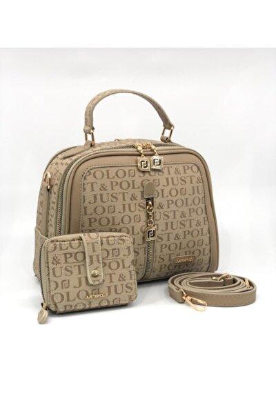 Kadın Vizon Çanta&cüzdan Kombini
