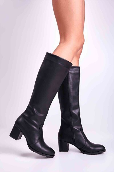 Siyah Kadın Çizme M0527703709