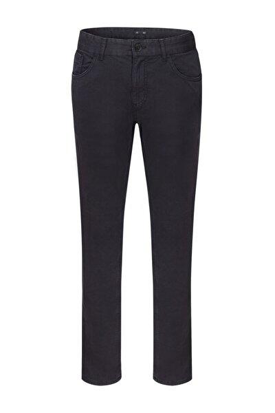Lacivert 5 Cep Pamuk Pantolon
