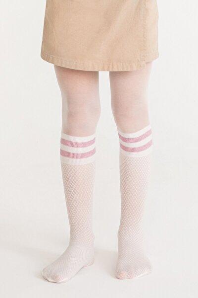 Marşmelov Pretty Shine Stripe Külotlu Çorap