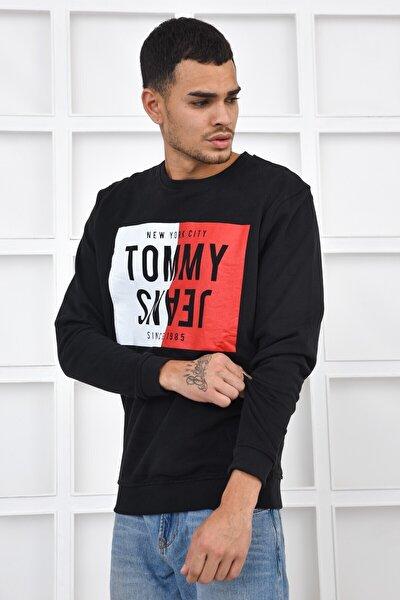 Erkek Sweatshirt - Siyah