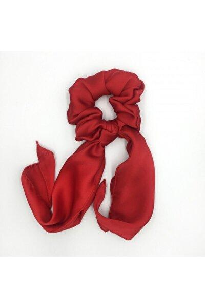 Kırmızı Fular Lastik Toka