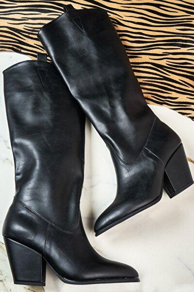 Siyah Kadın Çizme K06390550