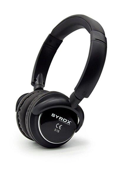 16 Bluetooth 4 Fonksiyonlu Kulak Üstü Kulaklık S16