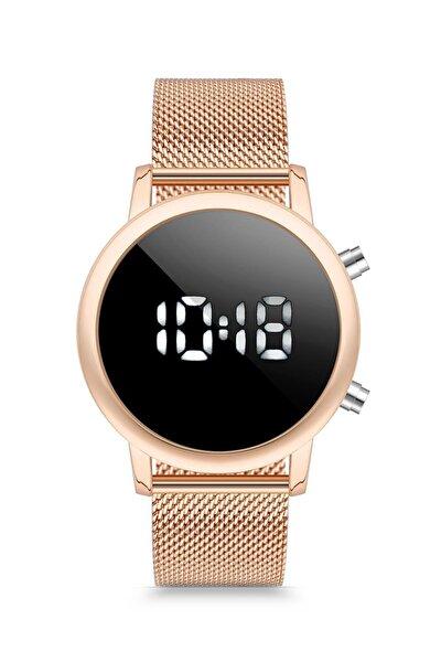 Duj1011 Unisex Kol Saati Hasır Gümüş
