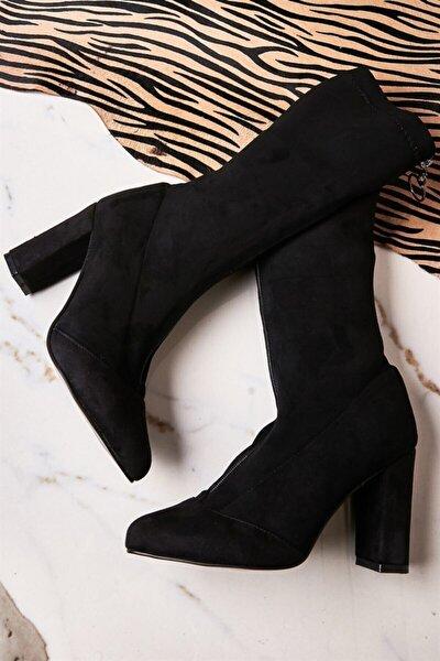 Siyah Kadın Çizme K05035855