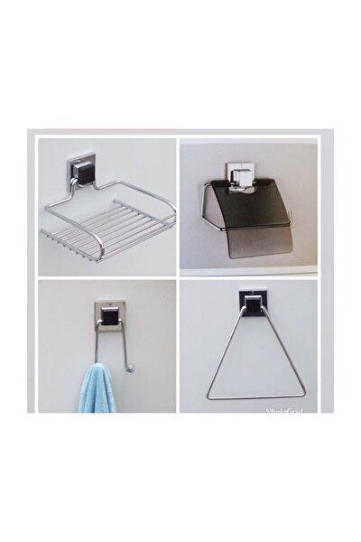 Güçlü Yapişma Banyo Seti 4 Ürün