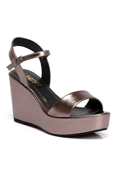 Lame Vegan Kadın Sandalet 210011o58