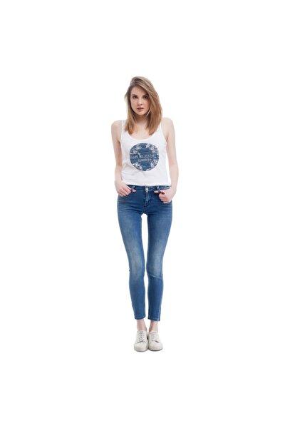 Jasmin Jeggins Kadın Jean Pantolon Açık Mavi