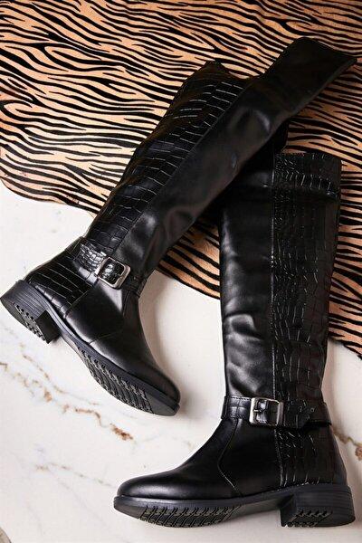 Siyah Kadın Çizme K0503111109