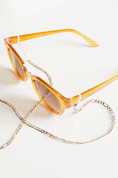 Kalın Zincir Gözlük Ipi