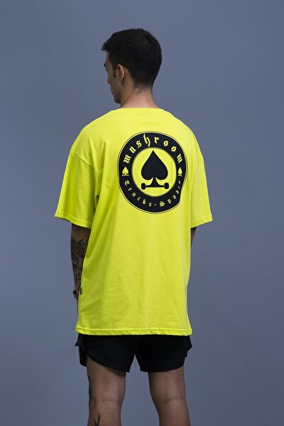Trucks And Spades Lime Oversize T-shirt