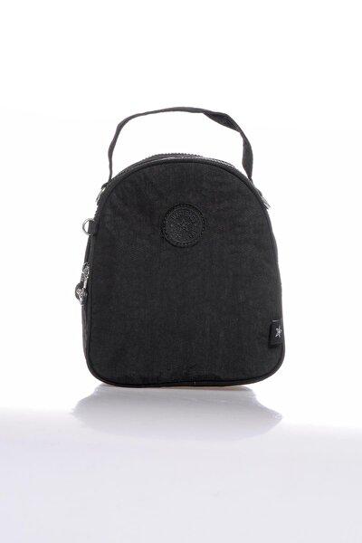 Smb3063-0001 Siyah Kadın Sırt Çantası