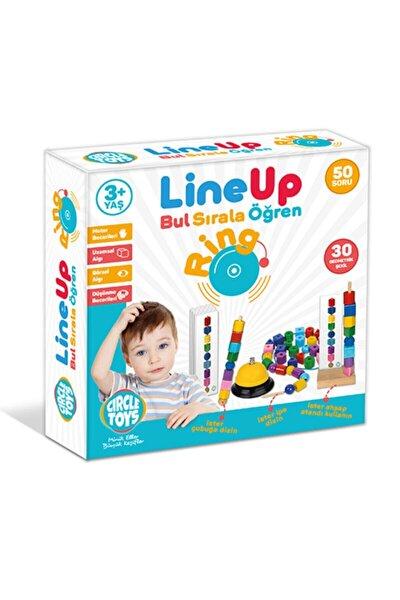 Line Up Ring - Bul Sırala Öğren 50 Soru 30 Geometrik Şekil Eğitim Seti