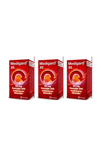 Eczacıbaşı Vitamin Mineral Kompleks Coq10 90 Tablet  3 X 30 Tablet Set - Multivitamin