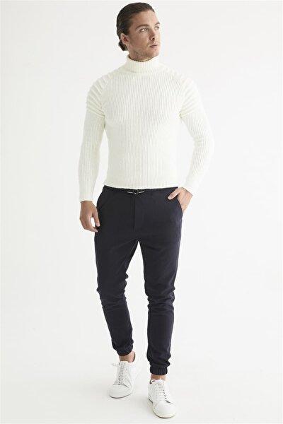 Atp 017 Slim Fit Lacivert Spor Pantolon
