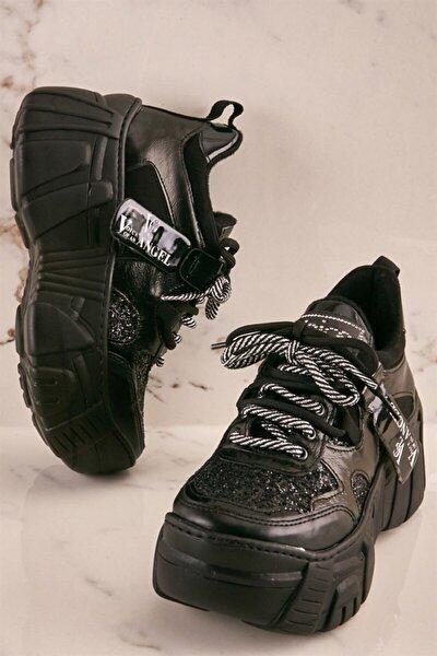 Sıyah/sıyah Kadın Sneaker