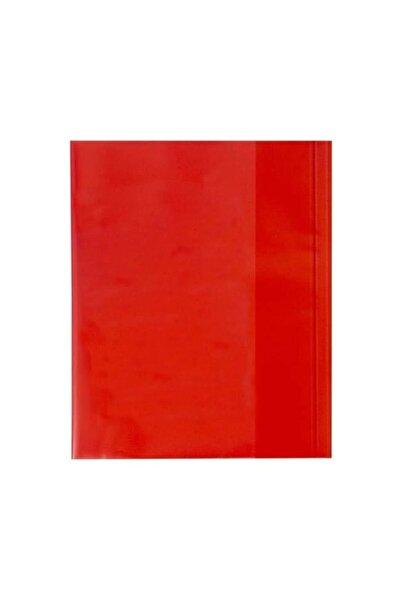 Hazır 59174-10 Kaplık Defter Kabı 10 Lu Kırmızı (1 Paket 10 Adet)