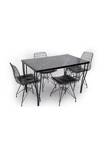 Masa Tel Sandalye Takımı