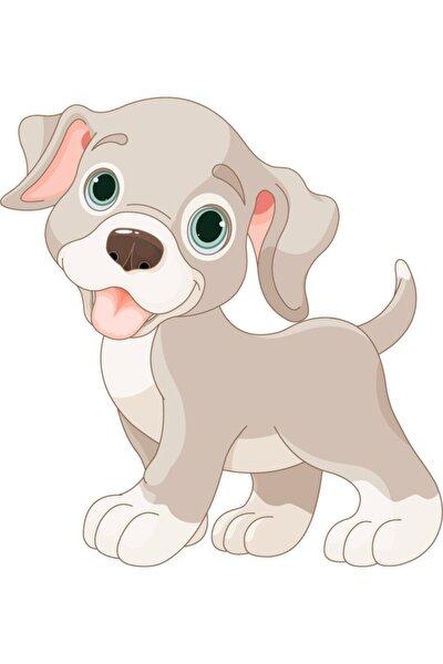 Sevimli Köpek Yavrusu Bebek Ve Çocuk Odası Yapışkanlı Çıkartma Duvar Sticker