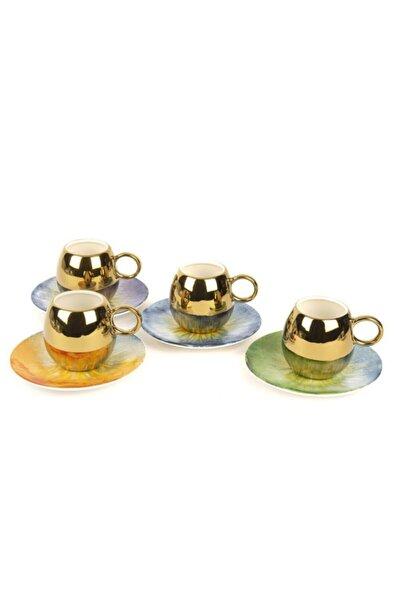 Shiny 4 Kişilik Kahve Fincanı Seti