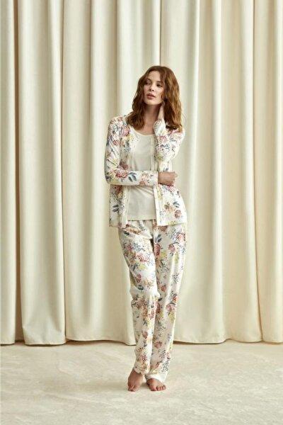 1734 Üçlü Pijama Takım