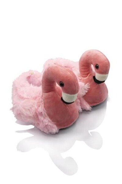 Tw Flamingo Fuşya Kadın Hayvanlı Terlik