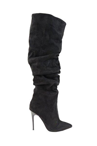Siyah Kadın Çizme K06391106