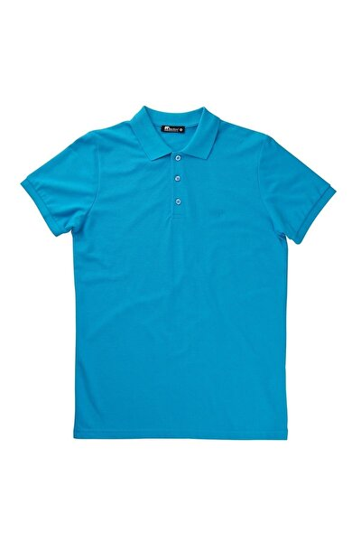 Basic Pique Polo T-shirt Nıght