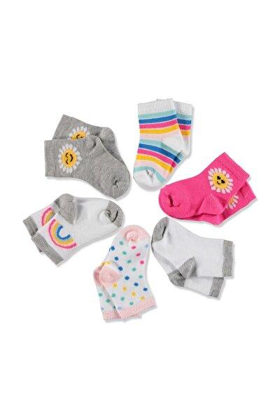 Bebek 6'lı Soket Çorap Güneş