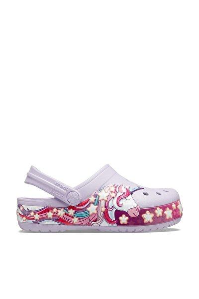Mor Kız Çocuk Spor Sandalet