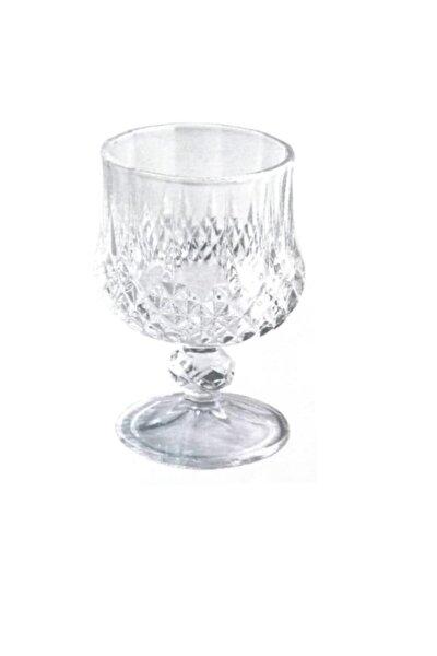 Eva Ayaklı Kristal Bardak Su Meşrubat Bardağı 6 Adet Kristal