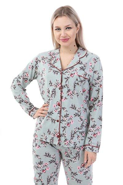 Penye Uzun Kol Pijama Takım