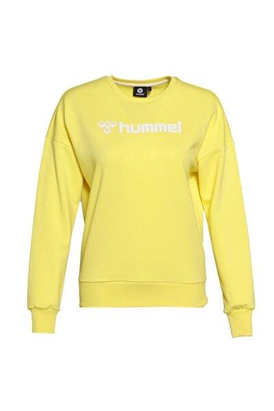 HMLNAOMI Sarı Kadın Sweatshirt 101085917